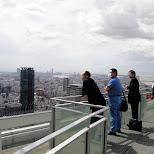 japanese people enjoying the osaka view in Osaka, Osaka, Japan