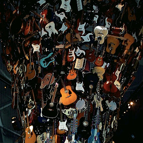 Rock and Roll at Seattle by Richard Timothy Pyo - Artistic Objects Musical Instruments ( object, musical, instrument )
