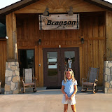 Hannah at the airport in Branson MO 08172012