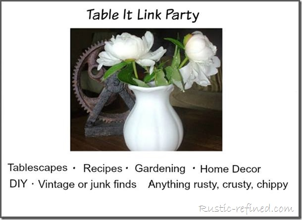 Table It Link Party Badge (new size)