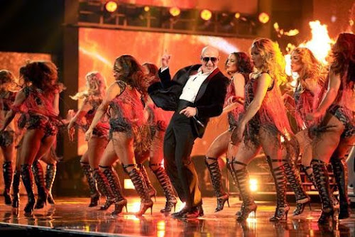 Pitbull   Time Of Our Lives / Celebrate (Live @ Jimmy Kimmel Live)