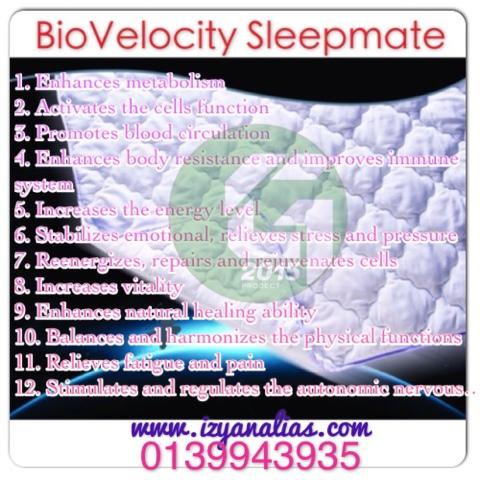 bio+velocity+sleep+mate+fungsi+bvsm
