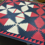 Coshocton County Fair 2014: Painting A Quilt Square For the  Art Hall