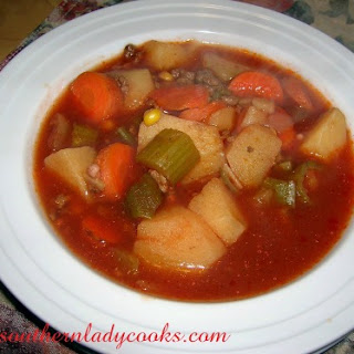 Hamburger Soup With Tomato Juice Recipes