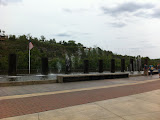 Dancing water fountain at Branson Landing in Branson MO 08182012-04