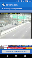 Screenshot of SG Traffic Cam