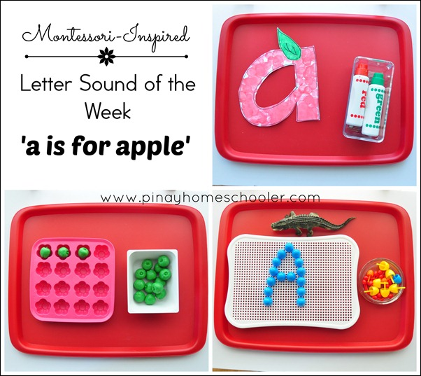 Letter A FB