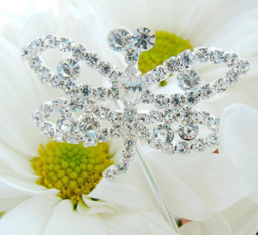Dragonfly Crystal Bouquet