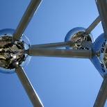 atomium in brussels in Brussels, Brussels, Belgium