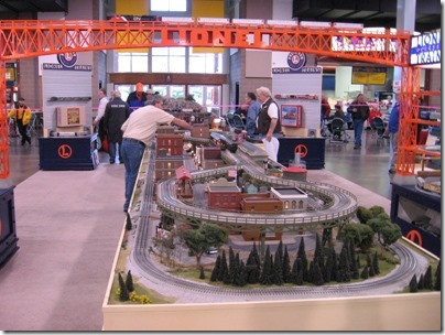 IMG_0674 Lionel Display Layout at the WGH Show in Puyallup, Washington on November 21, 2009