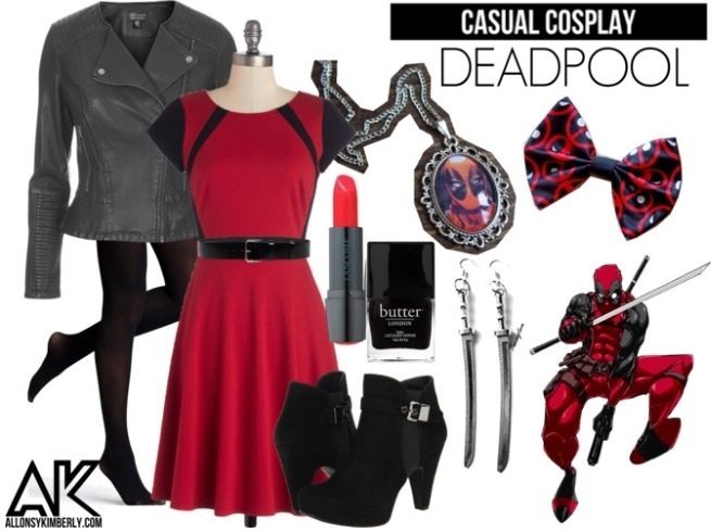 Casual Cosplay: Deadpool | allonsykimberly.com