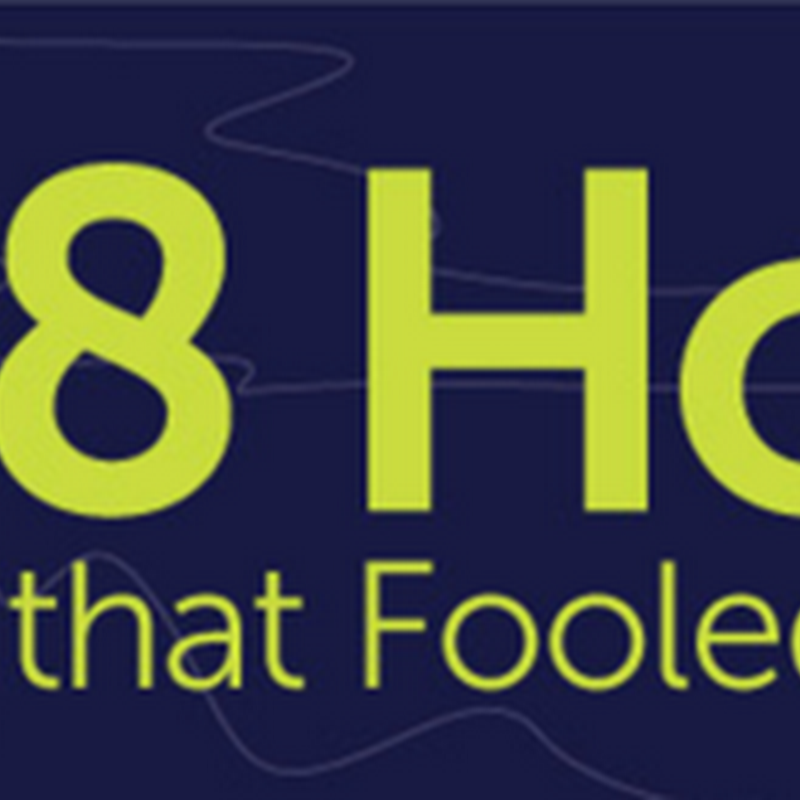 INFOGRAPHIC: 8 HOAXES THAT FOOLED THE INTERNET