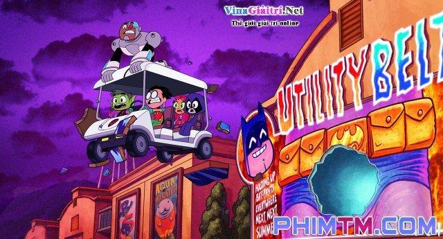 Xem Phim Biệt Đội Siêu Anh Hùng Teen Titans - Teen Titans Go! To The Movies - quevivacorky.com - Ảnh 1