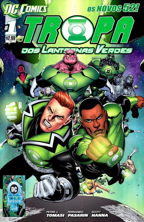 Tropa dos Lanternas Verdes (Os Novos 52)