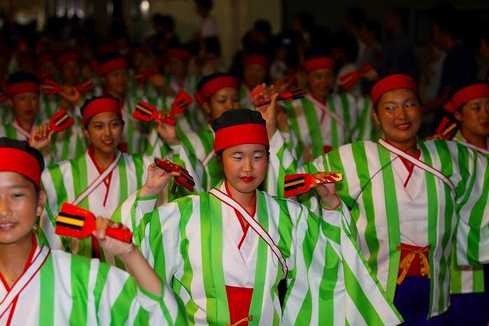 第59回よさこい祭り☆本祭2日目・上町競演場12☆上2目0273