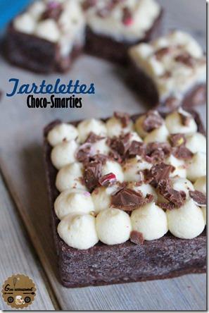Tartelettes Choco-Smarties 7