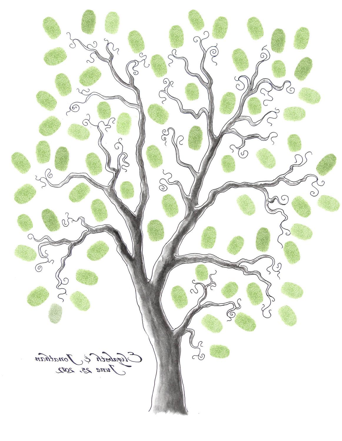 16 x 20 WEDDING TREE GUEST