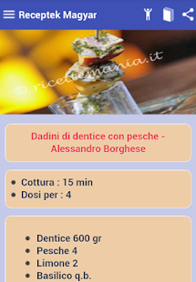 Ricette Antipasti - screenshot