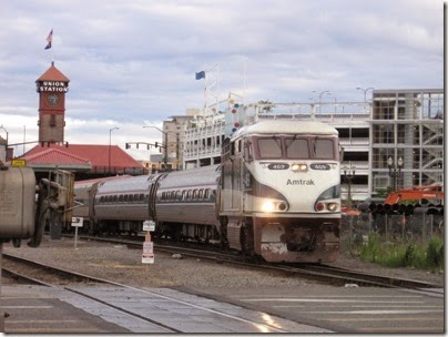 IMG_8617 Amtrak F59PHI #469 at Union Station in Portland, Oregon on August 19, 2007
