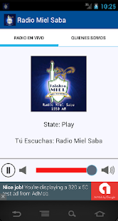 Radio Miel Saba - screenshot
