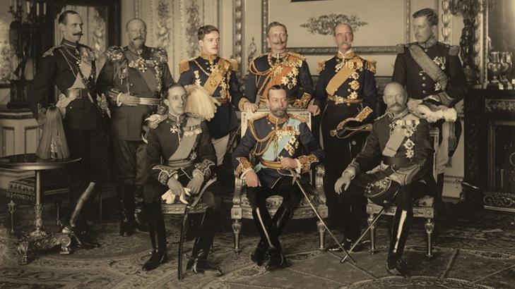 Fotografia dos nove reis
