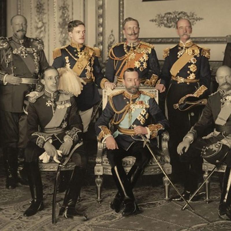 A famosa fotografia dos Nove Reis