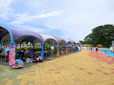 Uminonakamichi Seaside Park's Sunshine Pool