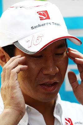 гипнотический Камуи Кобаяши на Гран-при Индии 2011