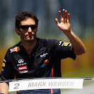 Mark Webber drivers parade