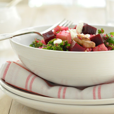 Quinoa Salad with Beets and Kale