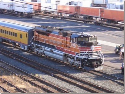 IMG_8928 Union Pacific SD70ACe #1996 at Brooklyn Yard in Portland, Oregon on September 6, 2007