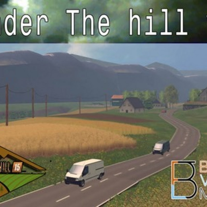 Farming simulator 2015 - Under the hill v 4.0