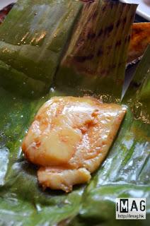 荷葉魚味度比較清香,不會太濃味