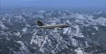 Alaska 73G soars above the Washington Cascades en-route to Seattle