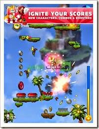 لعبة سونيك جمب Sonic Jump Fever للأندرويد -3