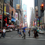 broadway in new york city in New York City, New York, United States