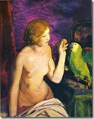 475px-George_Bellows_-_nude-girl-and-parrot
