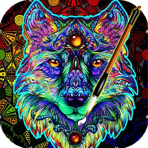 Coloring Book For Adults Free 【ColorWolf】 🐺  🇺🇸
