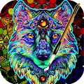 App Coloring Book For Adults Free 【ColorWolf】 APK for Kindle