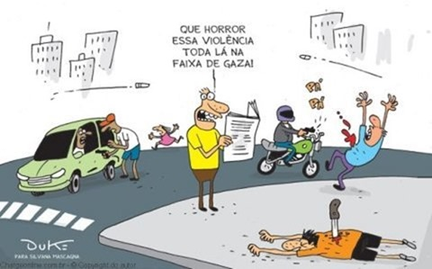 Resultado de imagem para A morte e o brasil charge