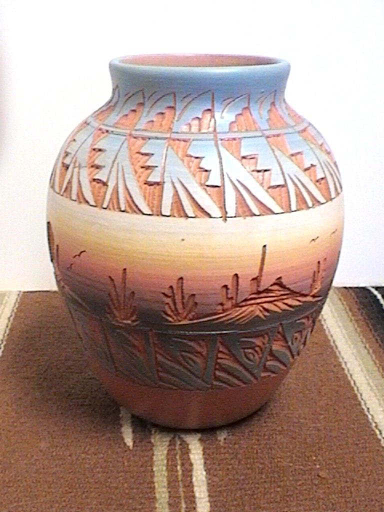 Pottery Vase  94 Vase