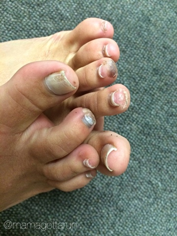 imt des moines marathon who needs pretty toes anyway