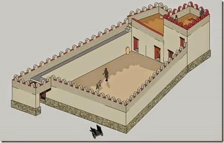 Recreación del fortín ibérico de Aigües Baixes - El Campello