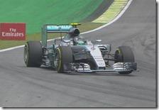 Nico Rosberg conquista la pole del gran premio del Brasile 2015
