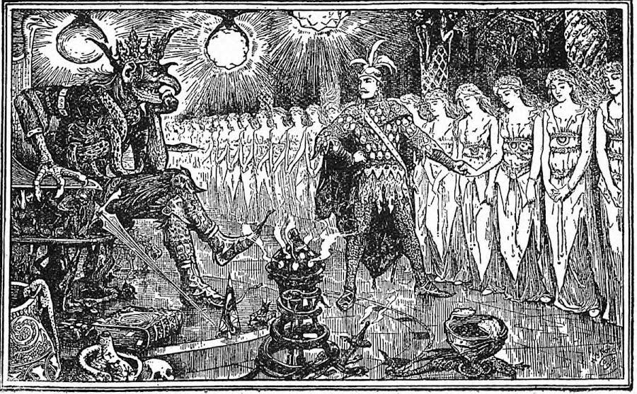 Dark roasted blend enchanting victorian fairy tale art