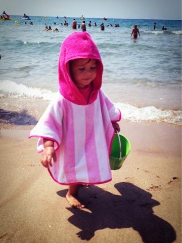 toallas niños que permiten movimiento