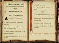 Pozione Scacciabrufoli - Istruzioni