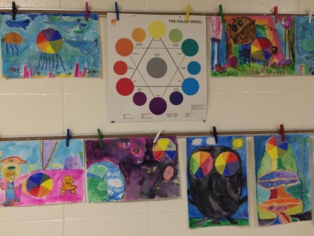 Little Hands Create Big Art: Color Wheel