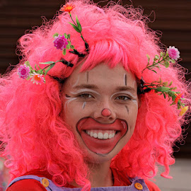 Clown by Vanessa Passanah - People Musicians & Entertainers ( clown, fun, party, entertainer, face painting )