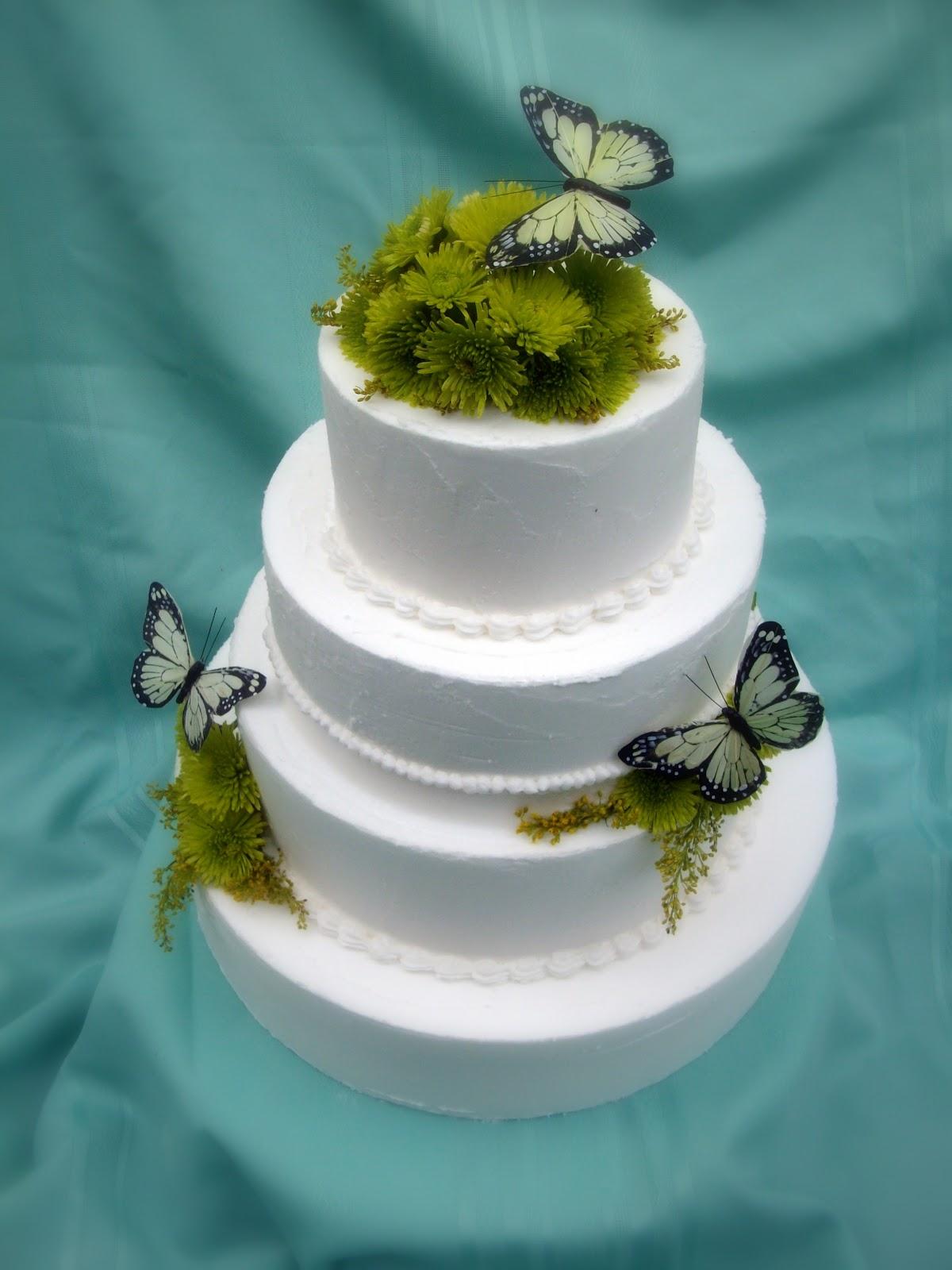 homemade wedding cake